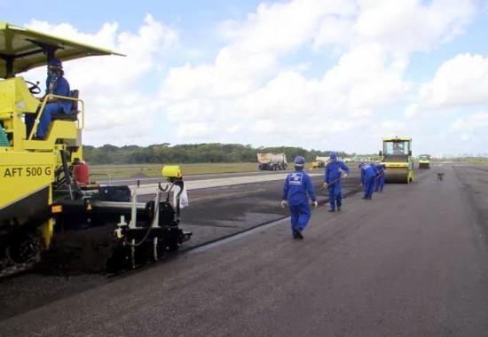 Aeroporto Belém Pista em Obras